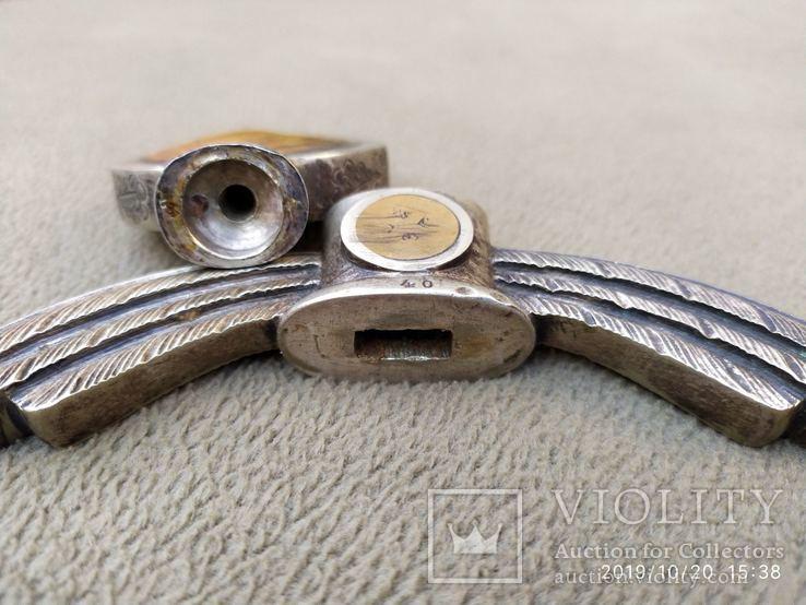 Эфес на меч Люфтваффе..оригинал в мельхиоре., фото №3