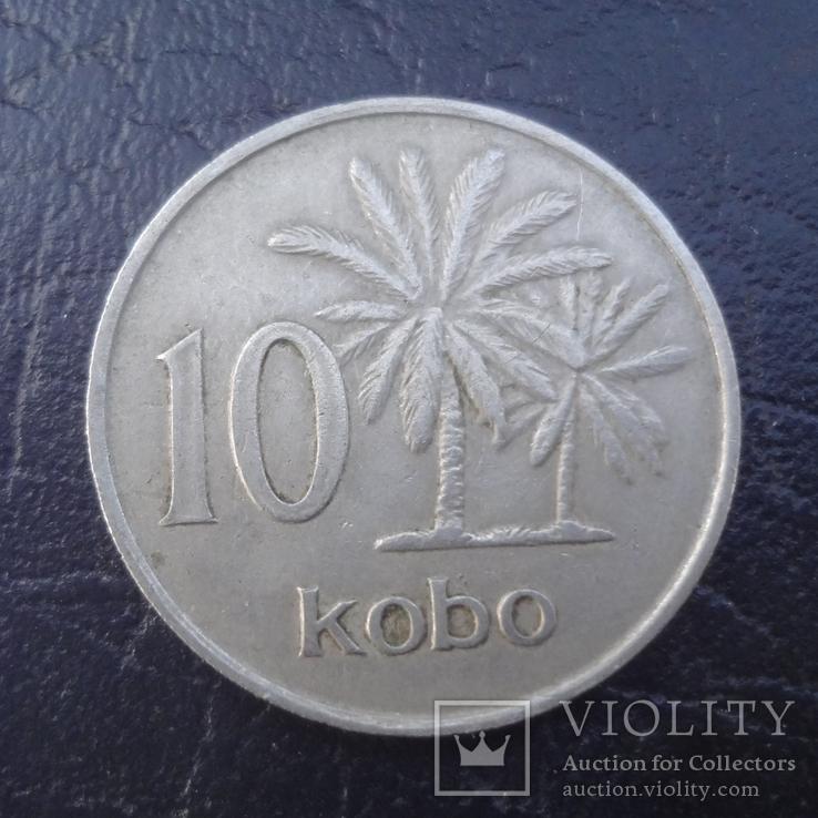 10 кобо 1973  Нигерия   (И.5.1)~, фото №2