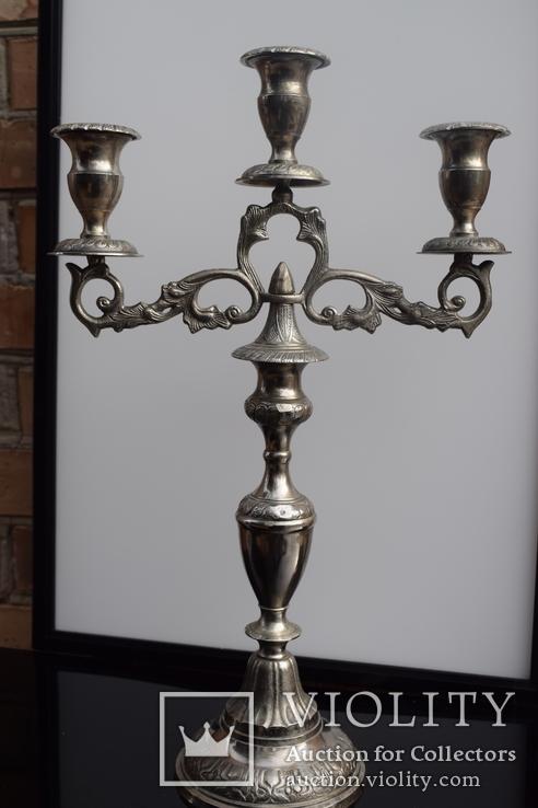Канделябр на три свечи. Европа, фото №6