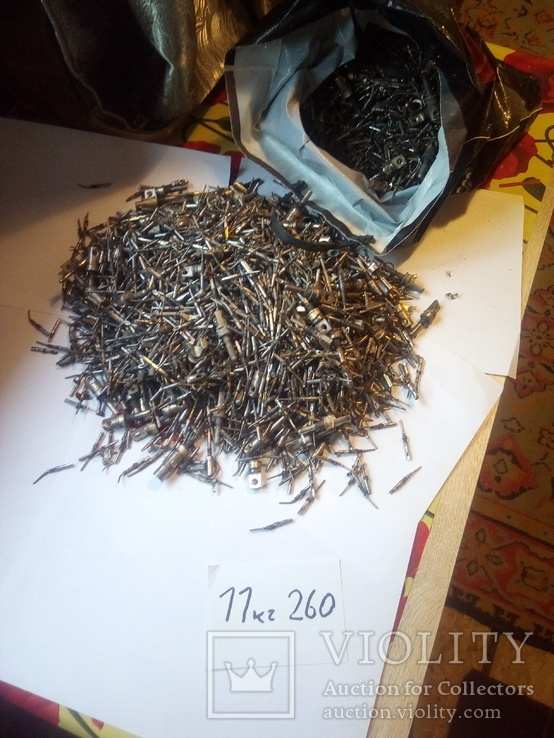 Посеребренка с розьемов 11кг260 грамм, фото №6