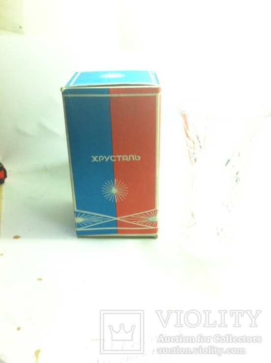 Ваза Хрусталь в коробке, фото №2