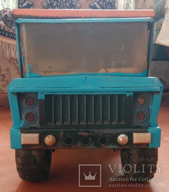 Металлический грузовик Белаз Ураган СССР, фото №2