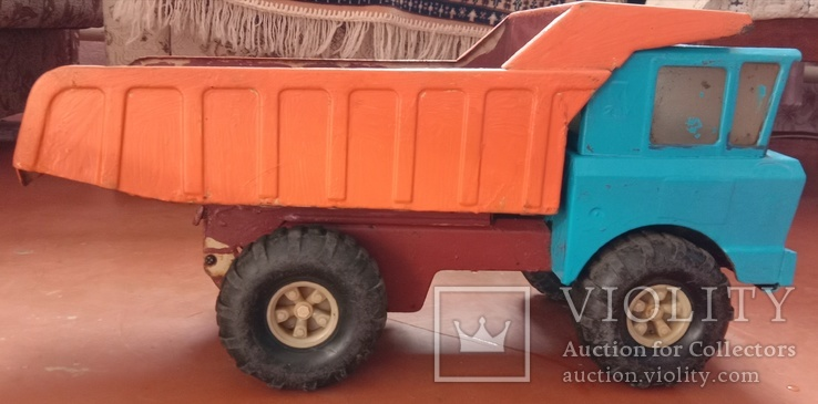 Металлический грузовик Белаз Ураган СССР, фото №4