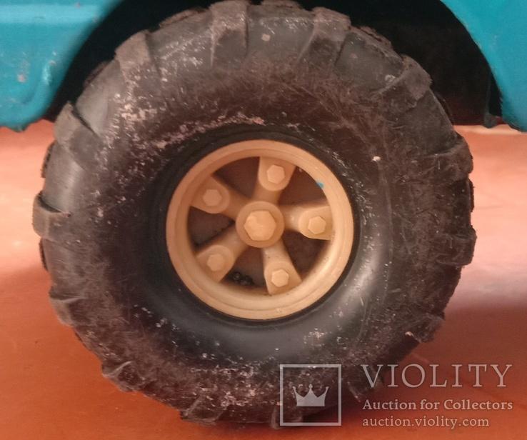 Металлический грузовик Белаз Ураган СССР, фото №11
