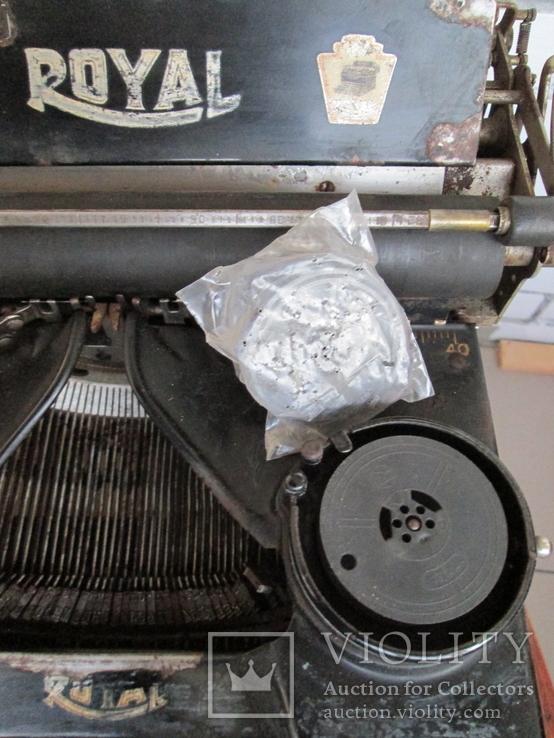 Печатная машинка ROYAL США начало 20 века, фото №3
