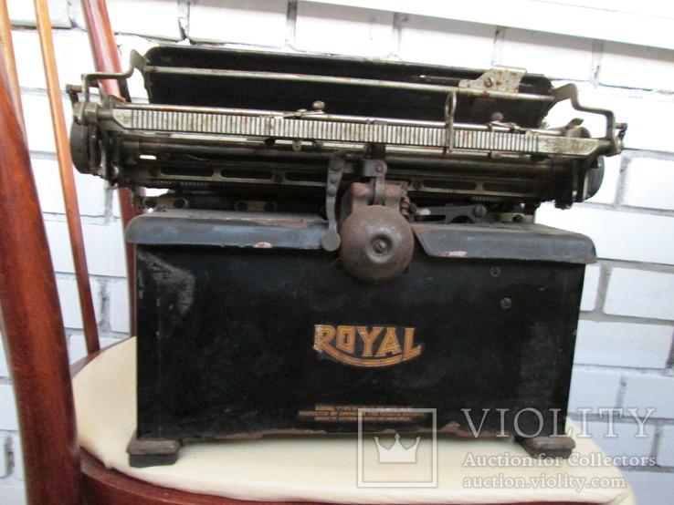 Печатная машинка ROYAL США начало 20 века, фото №5