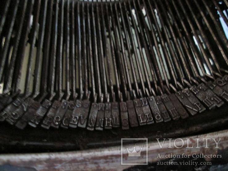 Печатная машинка ROYAL США начало 20 века, фото №7