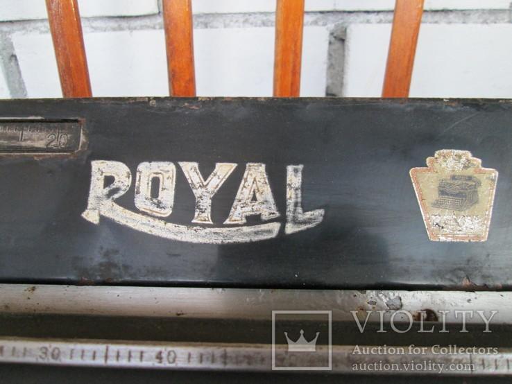 Печатная машинка ROYAL США начало 20 века, фото №9