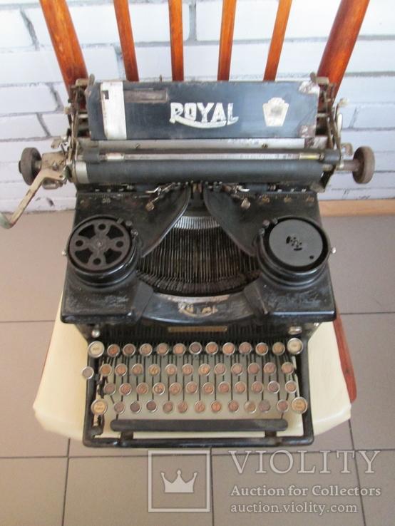 Печатная машинка ROYAL США начало 20 века, фото №13