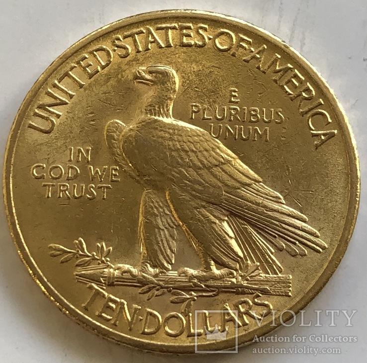 10 $ 1926 год США золото 16,7 грамм 900', фото №3