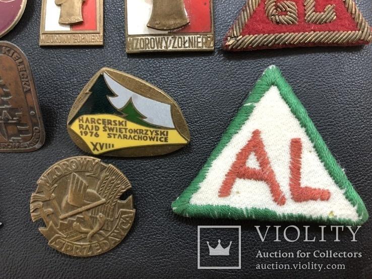 Иностаррые бронзовые значки, фото №5