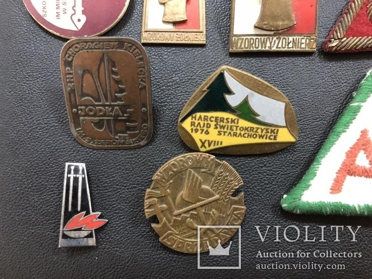Иностаррые бронзовые значки, фото №6