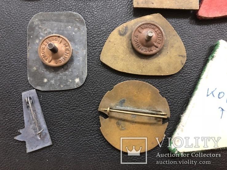 Иностаррые бронзовые значки, фото №10
