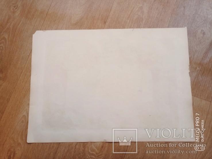 Лион. 19 век. Карта с картушами, фото №5
