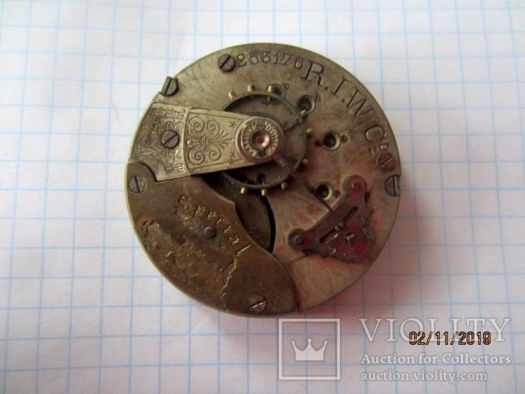 Часовой механизм карманных часы R.I.F Co., фото №3