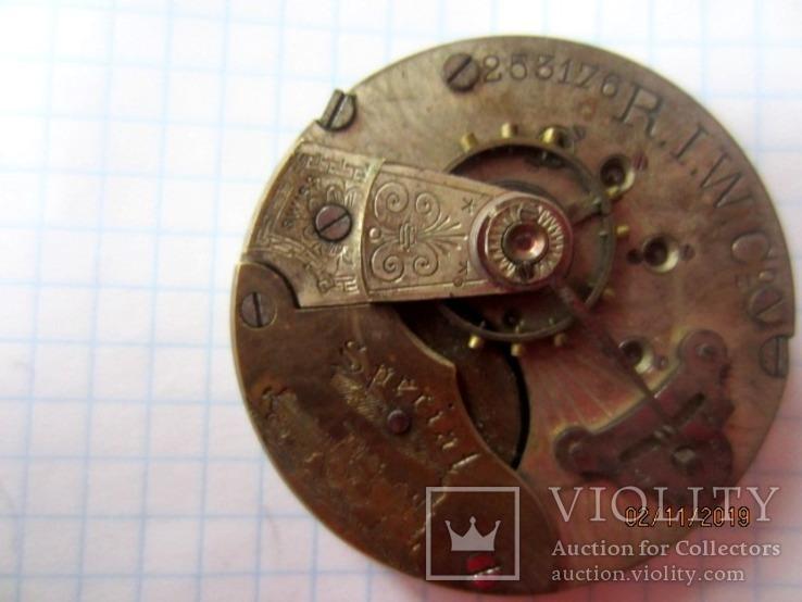 Часовой механизм карманных часы R.I.F Co., фото №8