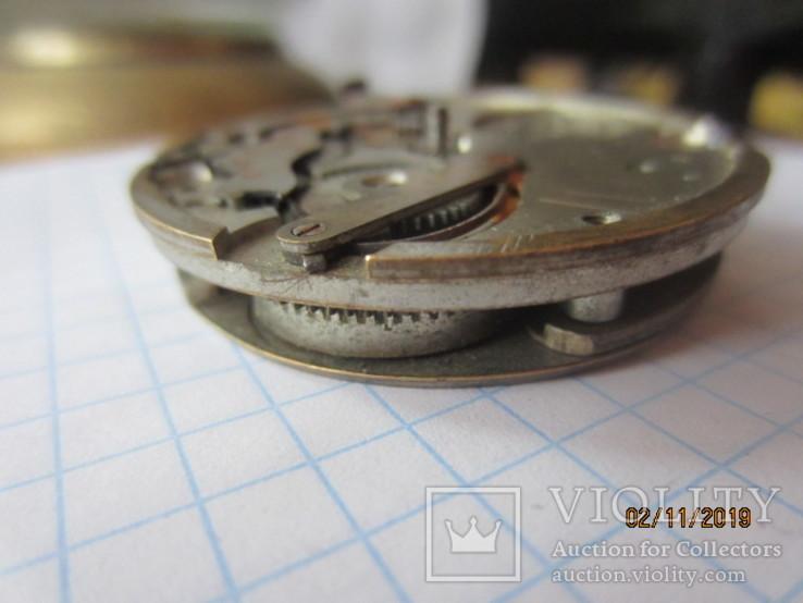 Часовой механизм карманных часы R.I.F Co., фото №9