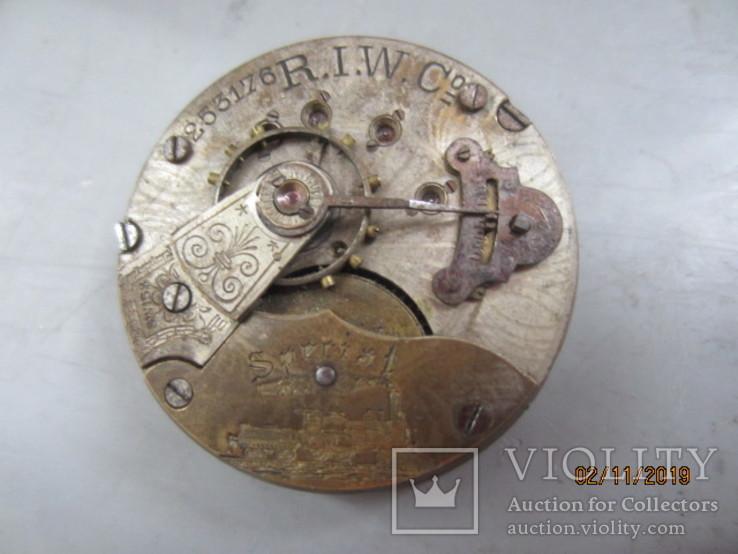 Часовой механизм карманных часы R.I.F Co., фото №10
