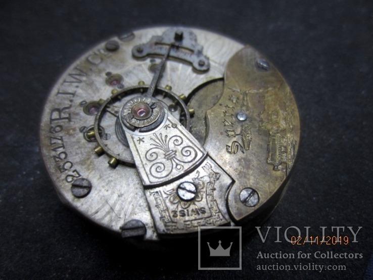 Часовой механизм карманных часы R.I.F Co., фото №11