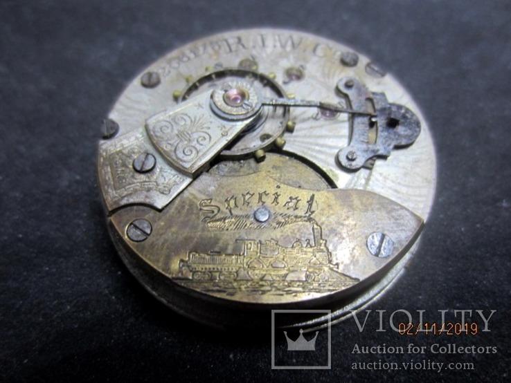 Часовой механизм карманных часы R.I.F Co., фото №2