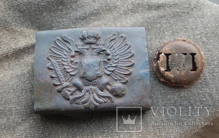 Пряга Австро-Венгрии + кокарда, фото №3