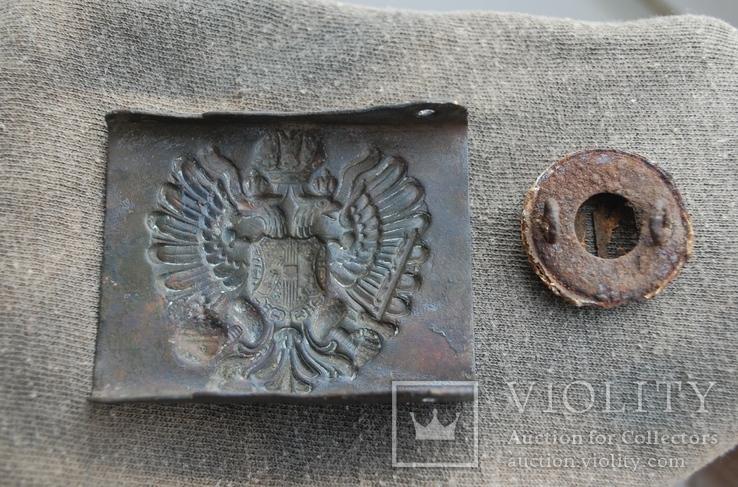Пряга Австро-Венгрии + кокарда, фото №4