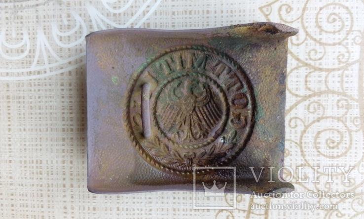 Пряжка немецкая Веймар 1 мировая, фото №3