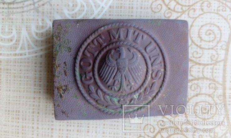 Пряжка немецкая Веймар 1 мировая, фото №4