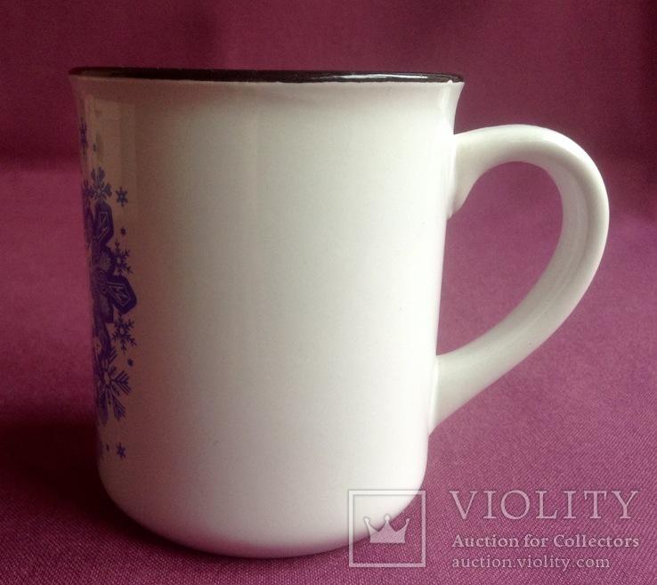 Чашка Bukovel. Фарфор. Новая., фото №3