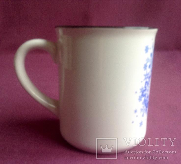 Чашка Bukovel. Фарфор. Новая., фото №4