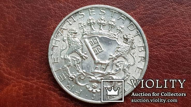 2 марки 1904 г. Бремен., фото №2