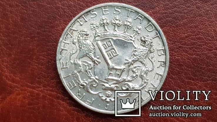 2 марки 1904 г. Бремен., фото №3