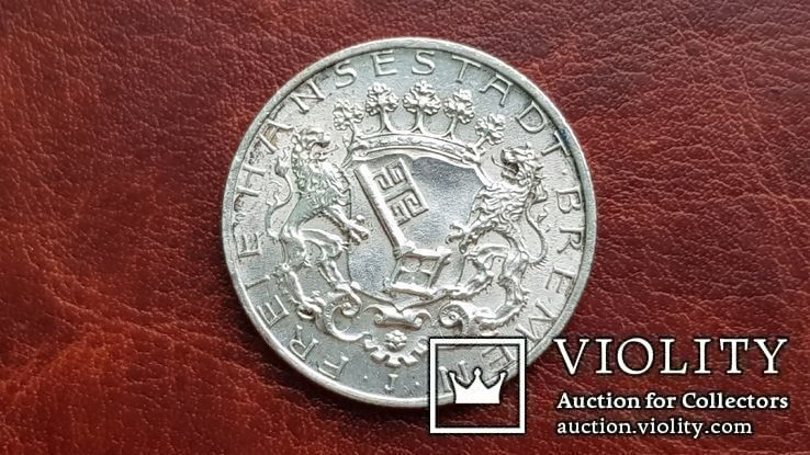 2 марки 1904 г. Бремен., фото №4