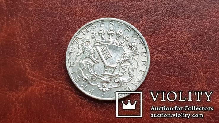 2 марки 1904 г. Бремен., фото №5