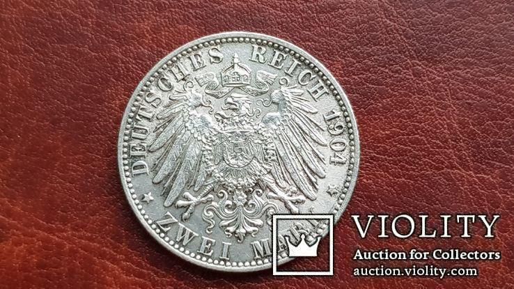 2 марки 1904 г. Бремен., фото №6