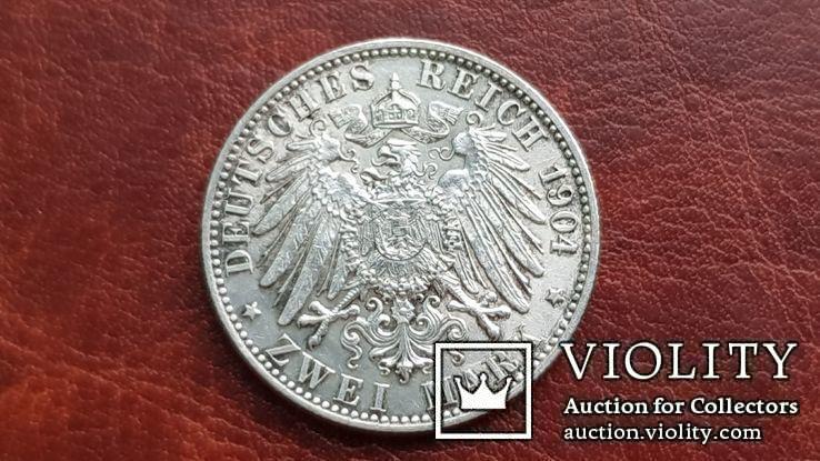 2 марки 1904 г. Бремен., фото №7