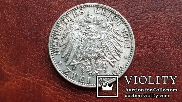 2 марки 1904 г. Бремен., фото №8