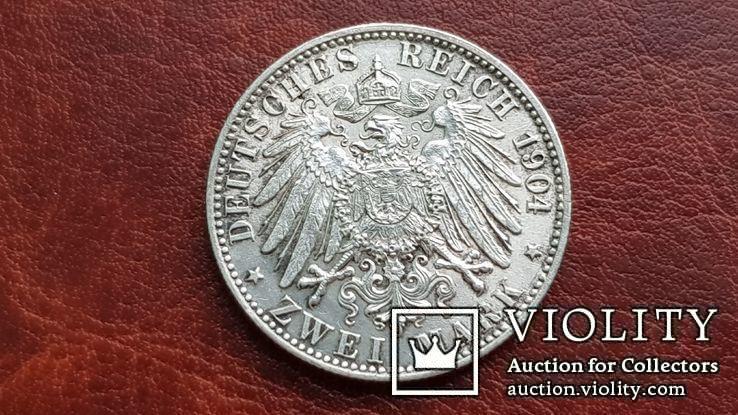 2 марки 1904 г. Бремен., фото №9
