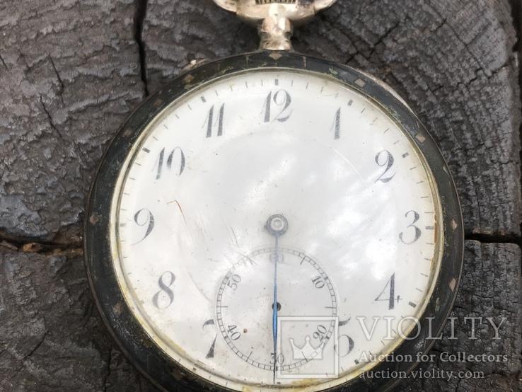 Часы карманные серебряные International Watch Company (IWC) Schaffhausen
