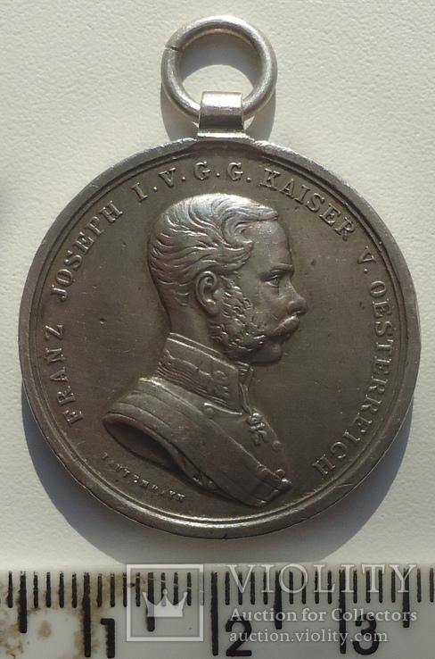 Австро-Венгрия За Храбрость  Ф.Иосиф 2 ст. 31 мм