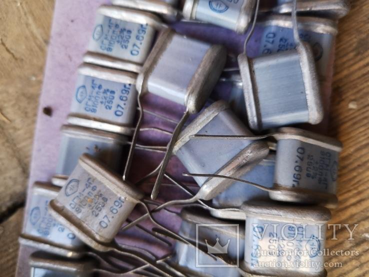 Радиодетали конденсаторы, фото №10