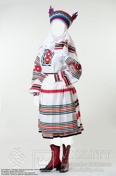 Обрядове вбрання весільної ''свашки'' копія, фото №2