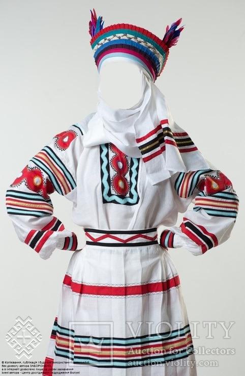 Обрядове вбрання весільної ''свашки'' копія, фото №4