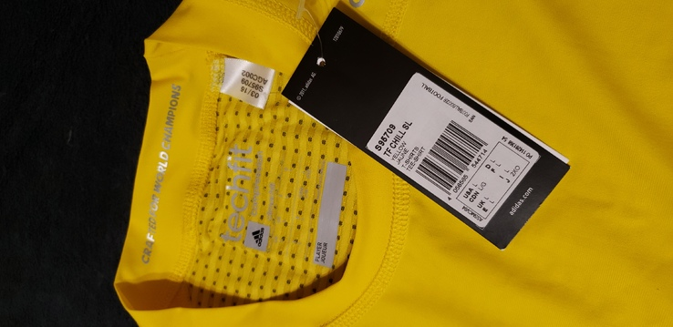 Термобелье adidas майка L (желкая), фото №3