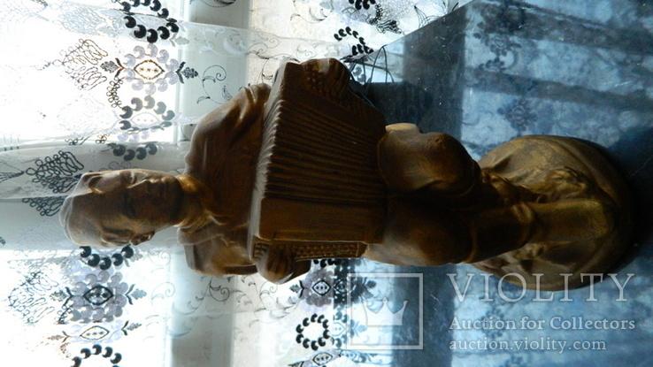"""Статуэтка """"Гармонист"""", фото №2"""