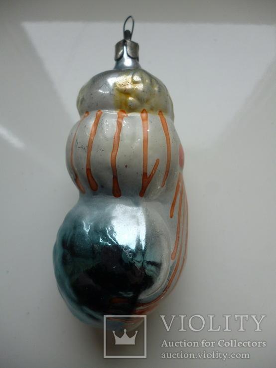 Елочная игрушка Снеговик, фото №5