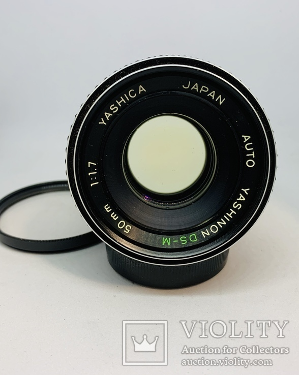 Yashica yashinon ds-m 50mm 1:1.7, фото №5