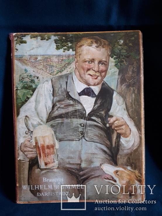 Рекламная папка с календарем 1908г., фото №2