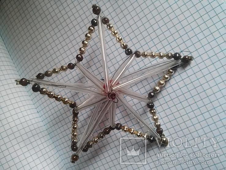 Старая елочная игрушка: Звезда. Цекляриус., фото №4
