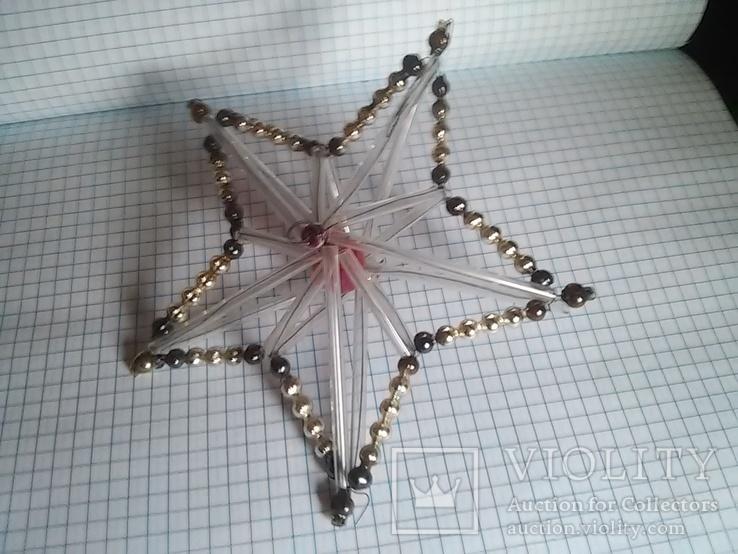 Старая елочная игрушка: Звезда. Цекляриус., фото №5